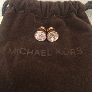 Michael Kors MKJ2821 Rose Gold Stud Earrings
